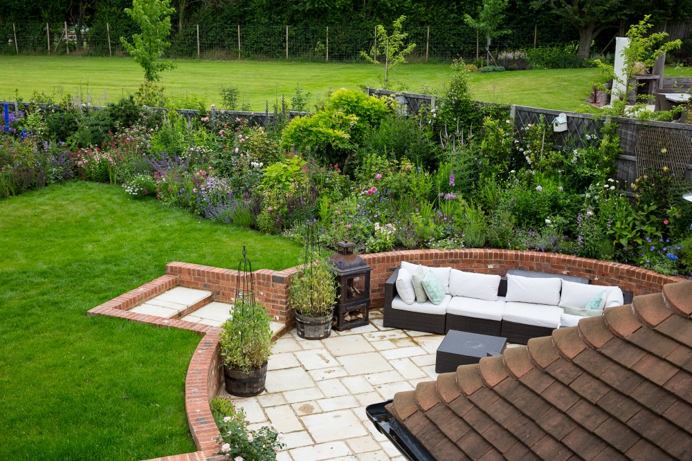 hampshire country garden