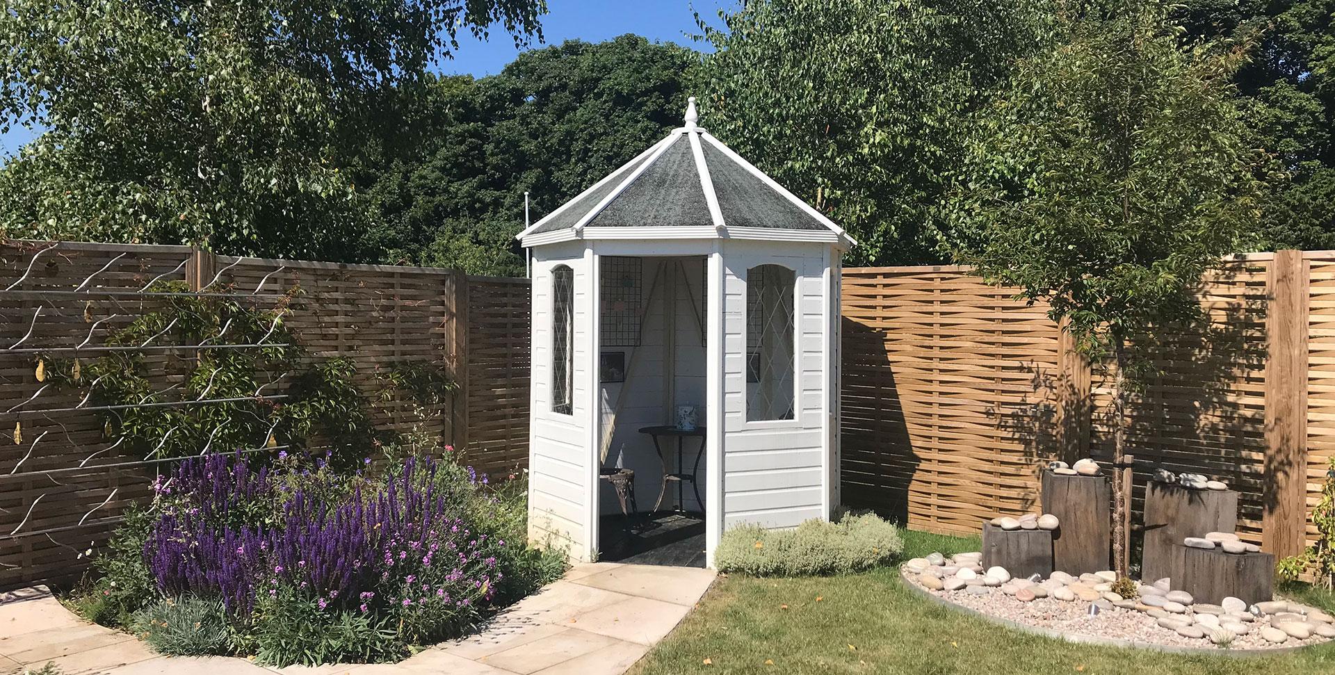 Summer house in Winchester garden