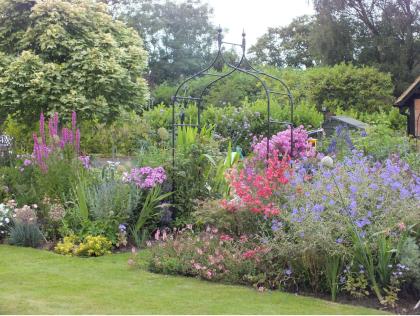 Country Garden Planting scheme Berkshire